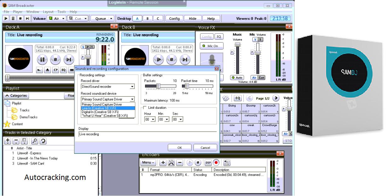 SAM Broadcaster Pro Key