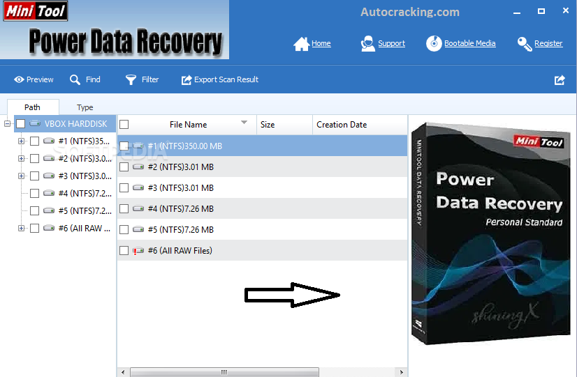 MiniTool Power Data Recovery Serial Key