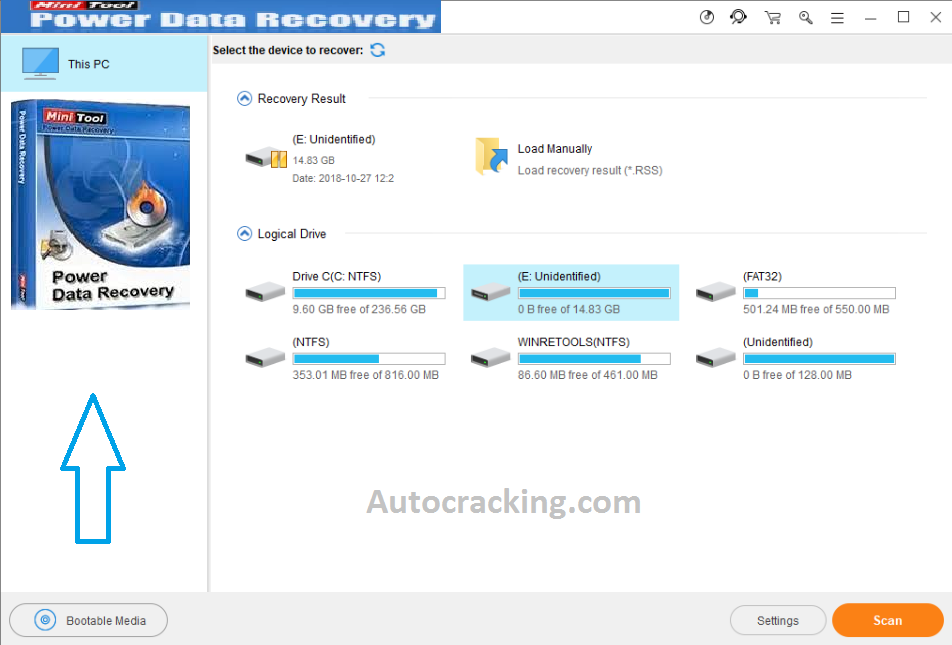 MiniTool Power Data Recovery License Key