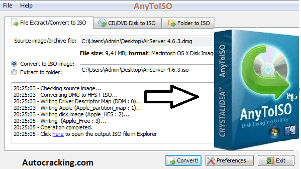 AnyToISO Registration Code