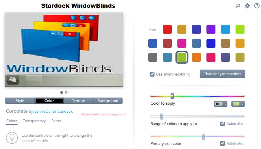 Stardock WindowBlinds Keygen