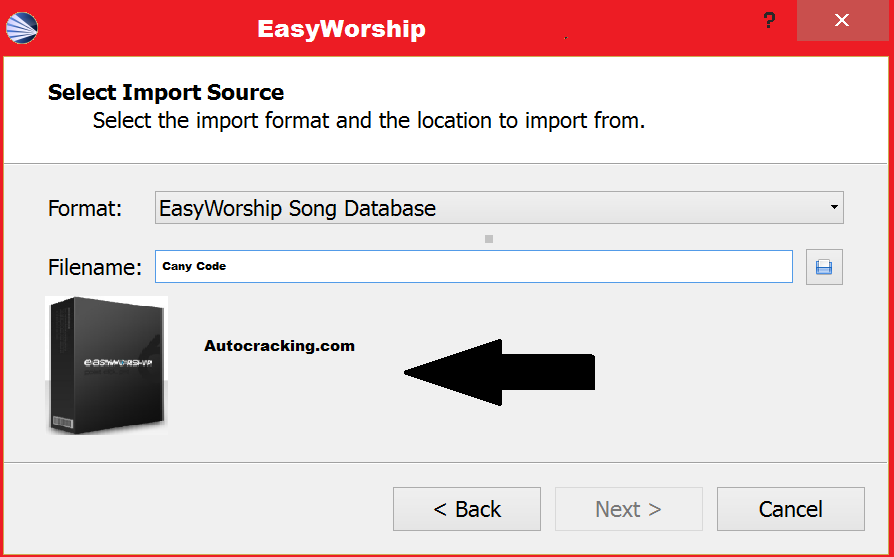 EasyWorship Licnce File