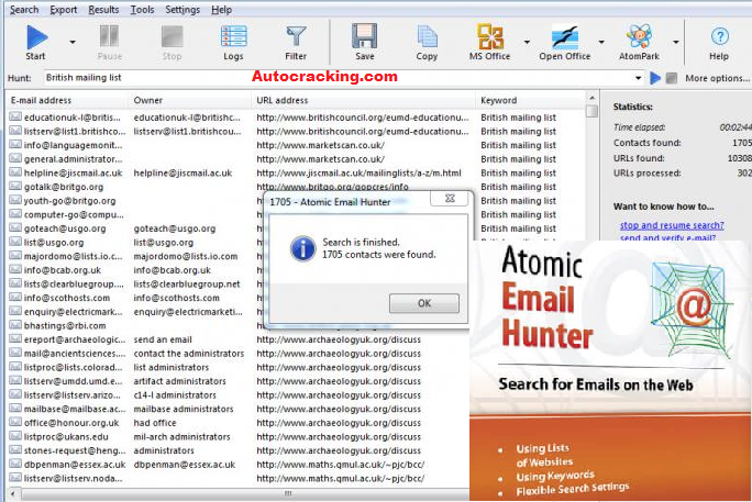 Atomic Email Hunter Keygen