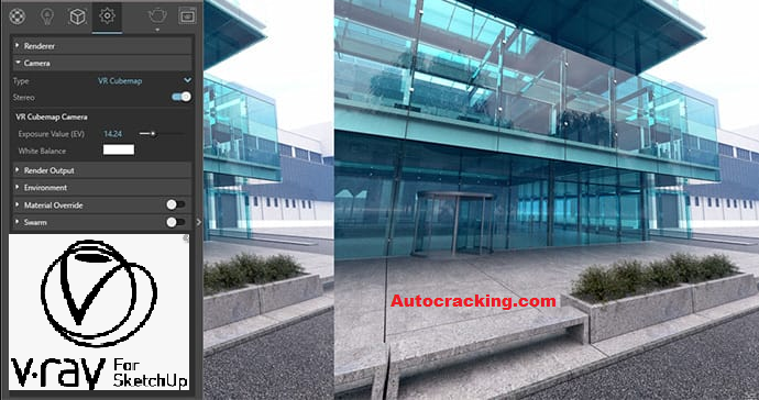 VRay For Sketchup Key