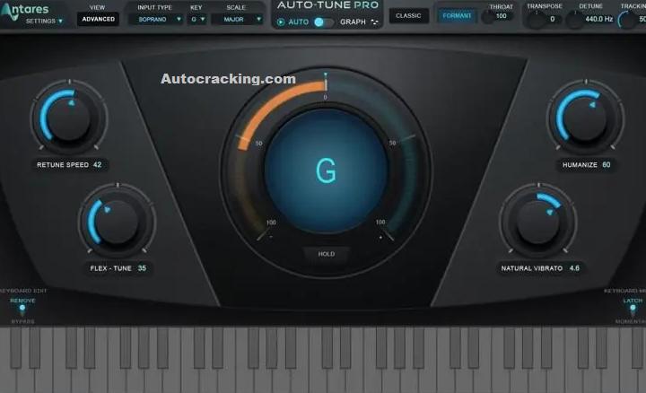 Antares AutoTune Pro Key